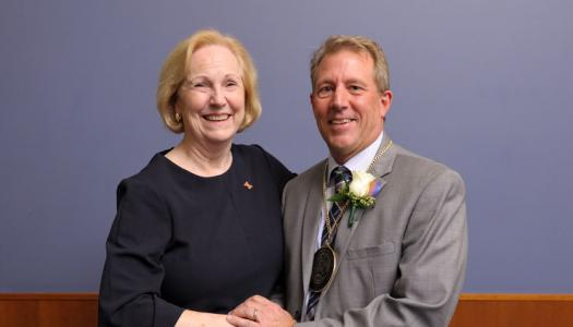 Dean Cheryl Hanley-Maxwell and Mottier Family Professor Jeff Woods