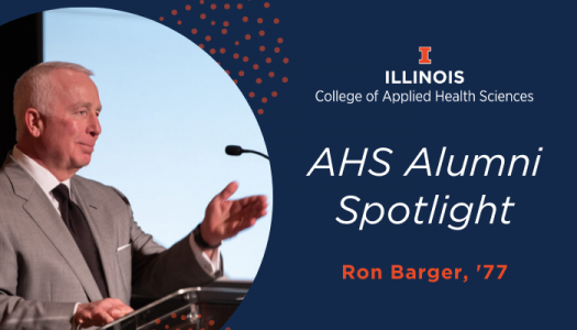 Ron Barger graduated from ALS in 1977